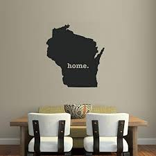Amazon Com Wisconsin Home Native Local Pride Wall Decal 16 X 14 Home Kitchen