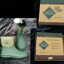 green muck boots garden mens 3 womens
