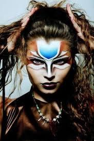 red indian warrior makeup saubhaya makeup