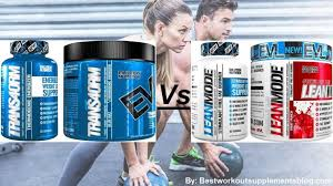 evlution nutrition trans4orm and lean