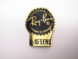 Ray Ban Stickers On Sunglass Lenses I Love Ray Bans