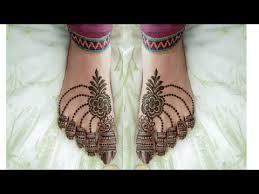 Leg Mehandi Design Pair Ka