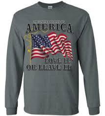 American Flag Usa Maga America First Trump Decal Tee Shirt Long Sleeve Mens Ebay