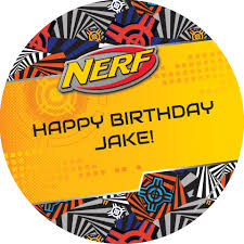 Nerf Personalized Stickers Shindigz