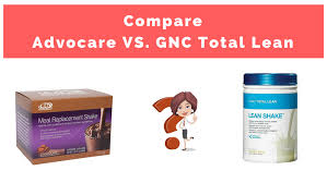 advocare vs gnc total lean meal shake