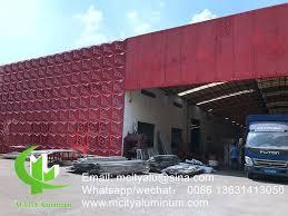 Decorative Perforated Aluminum Sheet Metal Panels 4x8 For Building Outdoor Facade
