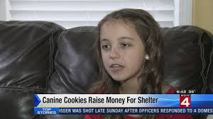 Southgate girl's 'Cookies For Canines' feeds dogs in need