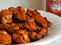 grilled en wings with seasoned