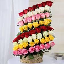 colorful feelings flower arrangement
