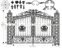 Wrought Iron Fence And Gate Components For Sale Price China Manufacturer Supplier 1166249
