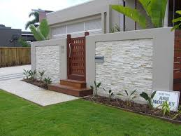 Home In 2020 Compound Wall Design Fence Wall Design Stone Wall Design