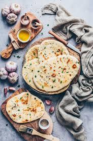 vegan naan bread easy homemade