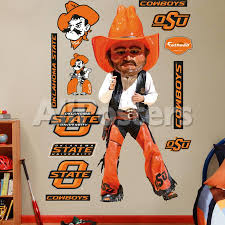Oklahoma State Pistol Pete Wall Decal Allposters Com