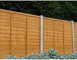 Forest Garden Dip Treated 6ft X 5ft 183 X 152cm Trade Lap Fence Panels Pack Of 5 Amazon Co Uk Garden Outdoors