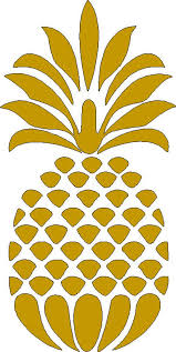 5 Inch Tall Pineapple Iron On Decal Only For T Shirt Tote Bag Etsy Pineapple Iron On Vinyl Stencil Pattern