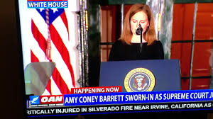 Supreme Court Judge Barrett sworn in ...