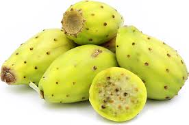 green cactus pears information recipes