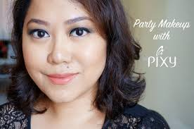 party makeup with pixy cosmetics