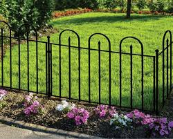 Garden Fence Panels Landscaping The Home Depot Garden Fence Types And Models Over The Cent In 2020 Garden Fence Panels White Garden Fence Metal Garden Fencing