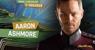 FEDCON - Aaron Ashmore - he Killjoys lead actor is in it.