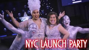 mac cosmetics launch party