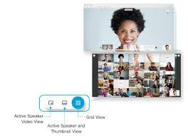 Video Conferencing - Switch Between Video Layouts in Cisco Webex Meetings  and Cisco Webex Events