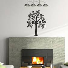 Tree Vinyl Wall Decal Size Small Tree Wall Decal Tree Art Etsy