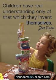 piaget children have real understanding only of that which they