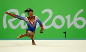 olympic gold for gymnast simone biles