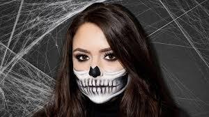 skeleton makeup tutorial perfect half