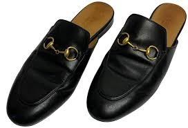 princetown leather slipper mules slides