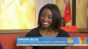 SIMONE BILES 17 - IN DEPTH INTERVIEW OF ...