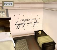 Second Life Marketplace And They Lived Happily Ever After Wall Decal