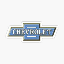 Chevrolet Stickers Redbubble