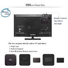 X96 Mini TV Box Android 7.1.2 Quad Core WiFi 2GB + 16GB 4K HD Media Pl -  Sky & Fly