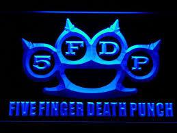 Five Finger Death Punch Led Neon Sign Safespecial