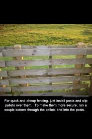Cheapest And Easiest Way To Build A Fence Diy Fence Building A Fence Cheap Fence
