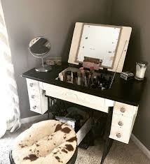 diy makeup vanity freedah luxury