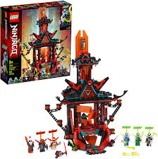 Amazon.com: LEGO NINJAGO Empire Temple of Madness 71712 Ninja Temple  Building Kit, New 2020 (810 Pieces): Toys & Games