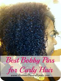 bobby pins for styling natural hair