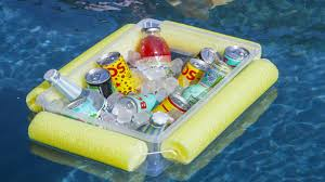 how to make a floating drinks cooler