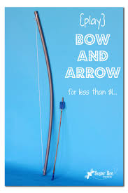 bow and arrow sugar bee crafts