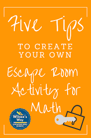 Wilcox S Way Ideas To Create Your Own Escape Room Puzzles