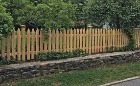 Cedar Spaced Picket Campanella Fence
