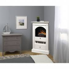 small corner electric fireplaces