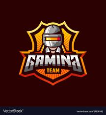 pubg gaming sport team vector image