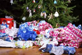 holiday recycling wrap up scarce
