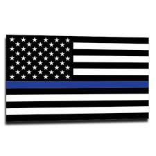 Stickers Thin Blue Line Usa