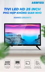 Tivi Led Asanzo 25 inch HD - Model 25S200T2 HDMI, VGA, AV, Truyền hình số  mặt đất, Âm Thanh Vòm Ảo Dolby, Tivi Giá Rẻ - Bảo Hành 2 Năm