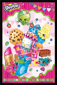 Shopkins Cart Poster Contemporary Kids Wall Decor By Trends International
